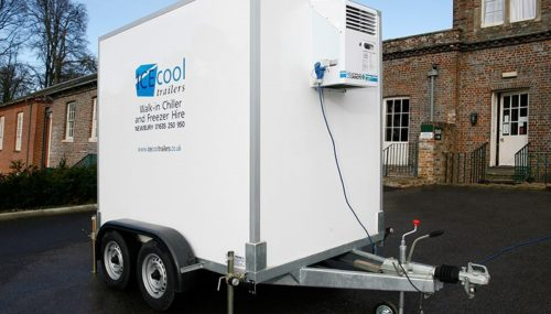 Freezer and Fridge Trailer Hire in Winter 2018