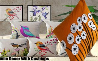 Home Decor With Cushions