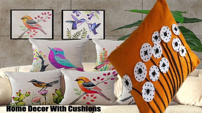 How to Brighten Up Your Home Decor With Cushions